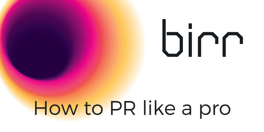 How to PR like a pro