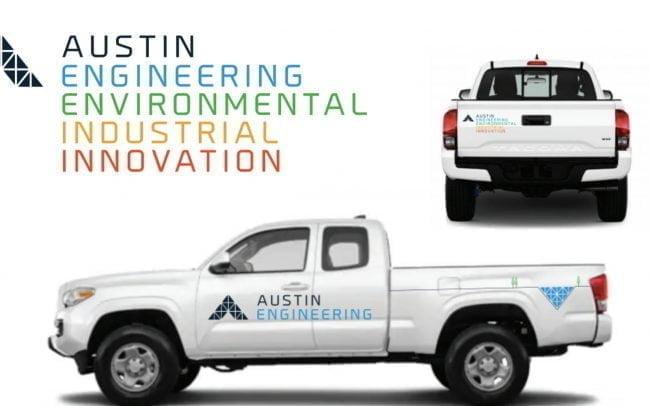 Austin Engineering branding