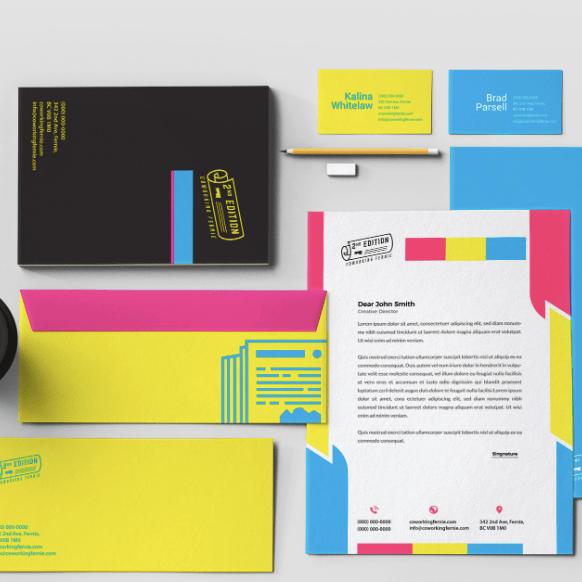 2nd Edition Coworking Fernie Branding